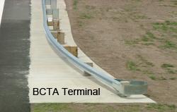 W-Beam Guardrail End Terminals – Barrier Designs